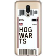 Силиконовый чехол BoxFace Meizu 16 Ticket Hogwarts (35190-cc91)