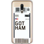 Силиконовый чехол BoxFace Meizu 16 Ticket Gotham (35190-cc92)