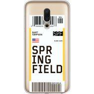 Силиконовый чехол BoxFace Meizu 16 Ticket Springfield (35190-cc93)