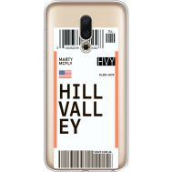 Силиконовый чехол BoxFace Meizu 16 Ticket Hill Valley (35190-cc94)