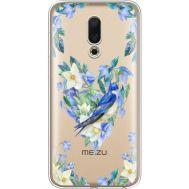 Силиконовый чехол BoxFace Meizu 16 Spring Bird (35190-cc96)