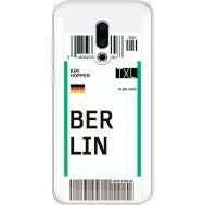 Силиконовый чехол BoxFace Meizu 16 Plus Ticket Berrlin (35584-cc80)