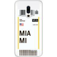 Силиконовый чехол BoxFace Meizu 16 Plus Ticket Miami (35584-cc81)