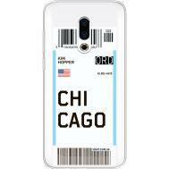 Силиконовый чехол BoxFace Meizu 16 Plus Ticket Chicago (35584-cc82)