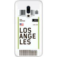 Силиконовый чехол BoxFace Meizu 16 Plus Ticket Los Angeles (35584-cc85)