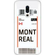 Силиконовый чехол BoxFace Meizu 16 Plus Ticket Monreal (35584-cc87)