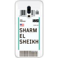 Силиконовый чехол BoxFace Meizu 16 Plus Ticket Sharmel Sheikh (35584-cc90)