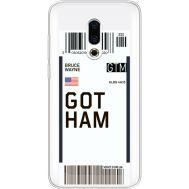 Силиконовый чехол BoxFace Meizu 16 Plus Ticket Gotham (35584-cc92)