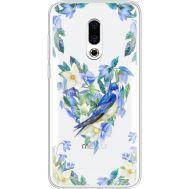 Силиконовый чехол BoxFace Meizu 16 Plus Spring Bird (35584-cc96)
