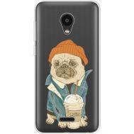 Силиконовый чехол BoxFace Meizu C9 Dog Coffeeman (35757-cc70)