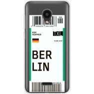 Силиконовый чехол BoxFace Meizu C9 Ticket Berrlin (35757-cc80)