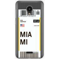 Силиконовый чехол BoxFace Meizu C9 Ticket Miami (35757-cc81)