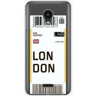 Силиконовый чехол BoxFace Meizu C9 Ticket London (35757-cc83)
