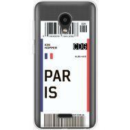 Силиконовый чехол BoxFace Meizu C9 Ticket Paris (35757-cc86)