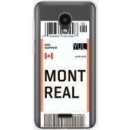 Силиконовый чехол BoxFace Meizu C9 Ticket Monreal (35757-cc87)