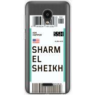 Силиконовый чехол BoxFace Meizu C9 Ticket Sharmel Sheikh (35757-cc90)