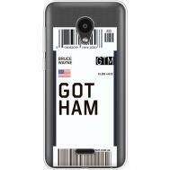 Силиконовый чехол BoxFace Meizu C9 Ticket Gotham (35757-cc92)