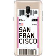 Силиконовый чехол BoxFace Meizu 15 Plus Ticket San Francisco (35783-cc79)