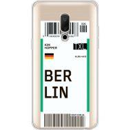 Силиконовый чехол BoxFace Meizu 15 Plus Ticket Berrlin (35783-cc80)