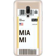 Силиконовый чехол BoxFace Meizu 15 Plus Ticket Miami (35783-cc81)