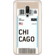 Силиконовый чехол BoxFace Meizu 15 Plus Ticket Chicago (35783-cc82)