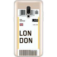 Силиконовый чехол BoxFace Meizu 15 Plus Ticket London (35783-cc83)