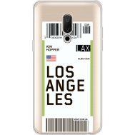 Силиконовый чехол BoxFace Meizu 15 Plus Ticket Los Angeles (35783-cc85)