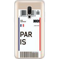 Силиконовый чехол BoxFace Meizu 15 Plus Ticket Paris (35783-cc86)