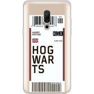 Силиконовый чехол BoxFace Meizu 15 Plus Ticket Hogwarts (35783-cc91)