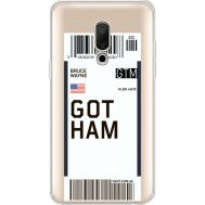 Силиконовый чехол BoxFace Meizu 15 Plus Ticket Gotham (35783-cc92)