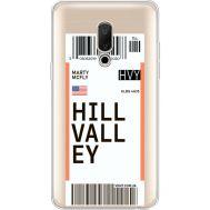 Силиконовый чехол BoxFace Meizu 15 Plus Ticket Hill Valley (35783-cc94)