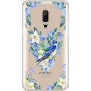 Силиконовый чехол BoxFace Meizu 15 Plus Spring Bird (35783-cc96)