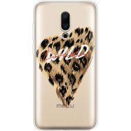 Силиконовый чехол BoxFace Meizu 16X Wild Love (35843-cc64)