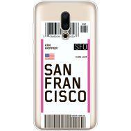 Силиконовый чехол BoxFace Meizu 16X Ticket San Francisco (35843-cc79)