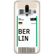 Силиконовый чехол BoxFace Meizu 16X Ticket Berrlin (35843-cc80)