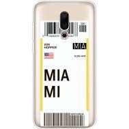 Силиконовый чехол BoxFace Meizu 16X Ticket Miami (35843-cc81)