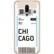 Силиконовый чехол BoxFace Meizu 16X Ticket Chicago (35843-cc82)