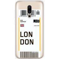 Силиконовый чехол BoxFace Meizu 16X Ticket London (35843-cc83)