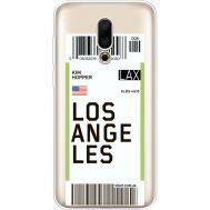 Силиконовый чехол BoxFace Meizu 16X Ticket Los Angeles (35843-cc85)