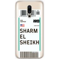 Силиконовый чехол BoxFace Meizu 16X Ticket Sharmel Sheikh (35843-cc90)