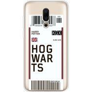 Силиконовый чехол BoxFace Meizu 16X Ticket Hogwarts (35843-cc91)