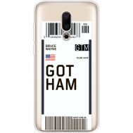 Силиконовый чехол BoxFace Meizu 16X Ticket Gotham (35843-cc92)