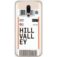 Силиконовый чехол BoxFace Meizu 16X Ticket Hill Valley (35843-cc94)