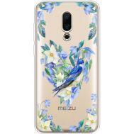Силиконовый чехол BoxFace Meizu 16X Spring Bird (35843-cc96)