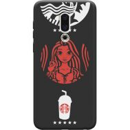 Силиконовый чехол BoxFace Meizu 16th RedWhite Coffee (36103-bk43)