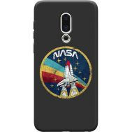 Силиконовый чехол BoxFace Meizu 16th NASA (36103-bk70)