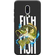 Силиконовый чехол BoxFace Meizu 16th Fish (36103-bk71)