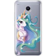 Силиконовый чехол BoxFace Meizu M5s Unicorn Queen (935041-rs3)