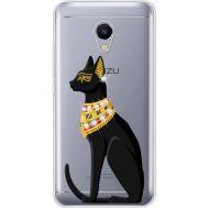 Силиконовый чехол BoxFace Meizu M5s Egipet Cat (935041-rs8)