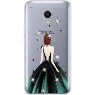 Силиконовый чехол BoxFace Meizu M5s Girl in the green dress (935041-rs13)